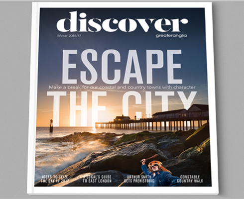 Discover Greater Anglia magazine cover