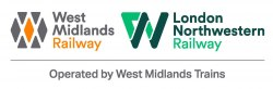 West Midlands Railway and London Northwestern Railway logos