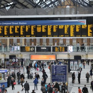 <p>Liverpool Street Station Concourse</p>