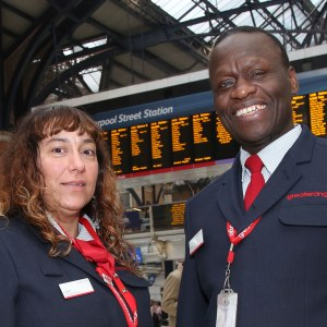 <p>Greater Anglia Customer Service</p>