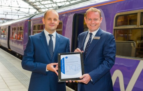 Northern Rail new environmental management certification