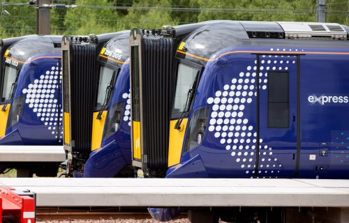 ScotRail introduces latest new electric train