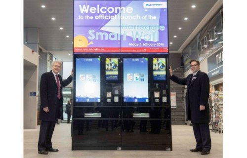 Northern Rail launches UK Rail's First Smart Wall