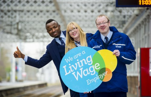 ScotRail becomes sixth largest living wage employer