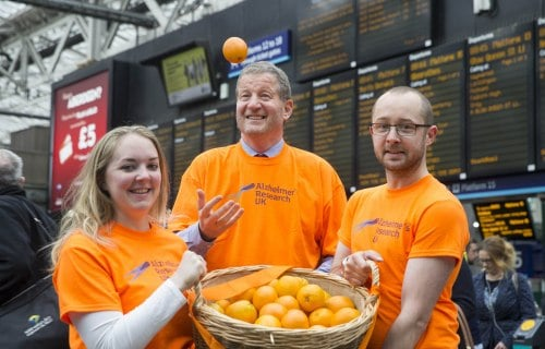 scotrail alliance charity alzheimers research uk