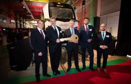 Abellio Germany presents new FLIRT train