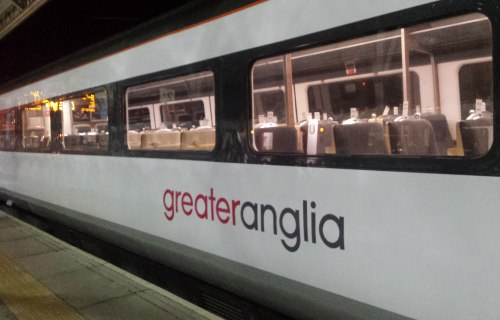 Greater Anglia new liverly for new franchise