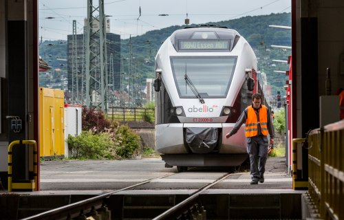Abellio Germany - Train on track
