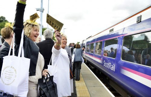 Over 125,000 passenger journeys on new Borders Railway in first month