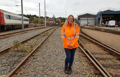 Greater Anglia appoints first female yard controller at Norwich depot